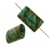 Turquoise Stablized Magnesite 12x20mm 8In Strand